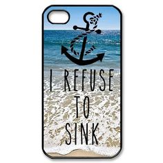 Hashex Various Painted Pattern Snap-on Hard PC Case Back Cover with Black Edges for iPhone 5 5s 5th (002-I refuse to sink) HASHEX http://www.amazon.com/dp/B00N41KTNK/ref=cm_sw_r_pi_dp_3i3.tb072KA1D