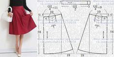Sewing Clothes Women Refashioning Skirt Patterns 18 New Ideas Skirt Pattern Free, Skirt Patterns Sewing, Clothing Patterns, Sewing Clothes Women, Diy Clothes, Dress Tutorials, Fashion Sewing, Handmade Clothes, Refashioning