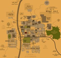 Welcome to Night Vale Fan Creates Detailed Maps of the City, Unwisely Includes the Dog Park | Page 2 | The Mary Sue