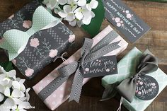 Mothers Day Gift Tags Gift Wrap