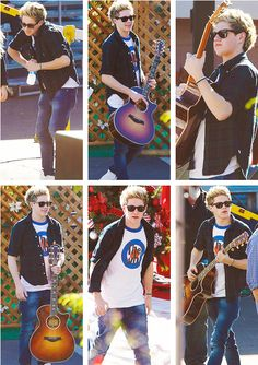 Niall with his guitar❤