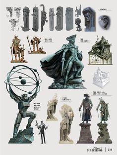 Fallout 4 | Concept Statues