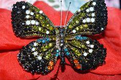 Joan Rivers Multi Crystal Rhinestone by AUNTPITTYPATSATTIC on Etsy