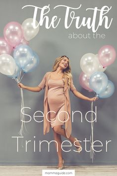 The second trimester of pregnancy is often called the honeymoon phase. You'll start to feel more like yourself, and your tummy will start to grow quickly. Trimesters Of Pregnancy, Pregnancy Tips, Second Trimester, Postpartum Care, First Time Moms, Breastfeeding Tips, Two By Two, Parenting, Content