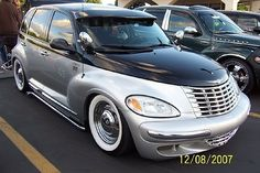 Chrome wheels and baby moons - or smoothie wheel covers? - PT Cruiser Forum