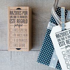 mrwonderful_sello_razones_por_las_que_te_mereces_este_regalo_01  Se vende en: www.mrwonderfulshop.es #sello #stamp #DIY
