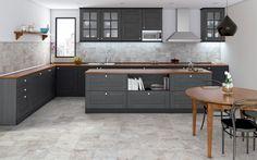 OUTLAND Collection - COLORKER #kitchen #tiles #porcelain #stoneeffect #decor #interiors #colorker
