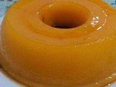 Cura pela Natureza.com.br: Pudim de casca de laranja sem glúten, sem lactose e sem ovo