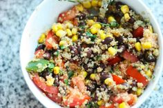 Eat Drink Pretty | Quinoa with black beans  best so far
