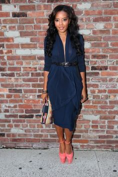 Angela Simmons, New York Fashion Week