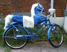 Carousel Horse Bike...now this is a bike I could def. ride!