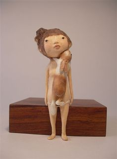 Kyoko Okubo makes very tiny Washi paper sculptures