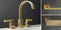 RH's Faucets, Fittings & Hardware Collections:Clean and classic bath faucets and fittings available at Restoration Hardware. Browse our functional and exceptionally stylish collection of bath tub faucets and sink faucets - available in several finishes.