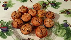 Muffins plàtan i xocolata