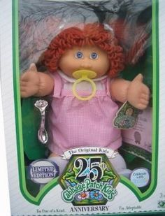 Cabbage Patch Kids 25th Anniversary Doll - Caucasian Girl with Red Hair