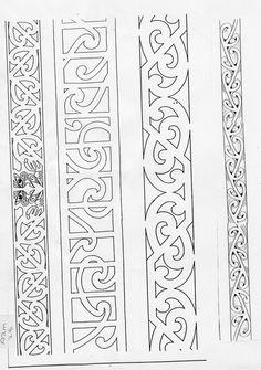 maori tattoos back Maori Designs, Celtic Designs, Viking Designs, Celtic Symbols, Celtic Art, Mandala, Tattoo Band, Maori Patterns, Leather Working Patterns