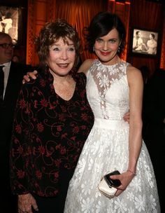 (Shirley MacLaine and) Elizabeth McGovern, mother & daughter in Downton Abbey. Cora Crawley, Countess of Grantham.  #downtonabbey #downtonabbeyobsession