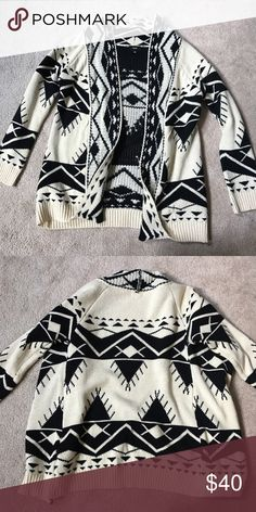 Submit ANY offer! FATE Aztec Cardigan Great Condition! Only worn a few times Fate Sweaters Cardigans