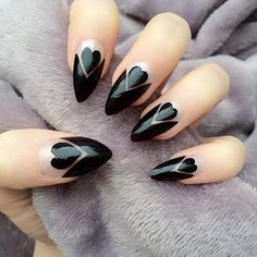 Stiletto Nail Designs 31