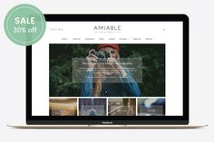 Amiable - A WP Blogging Theme