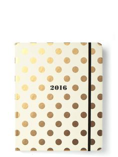 Pin for Later: 39 Chic Agendas For an Organized New Year Kate Spade Medium 17-Month 2016 Planner Kate Spade Medium 17-Month 2016 Planner ($30)