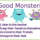 This cute classroom set is monster themed and sure to help you set up a monster classroom of your own.    Monster center signs  Monster  rules.  Mo...