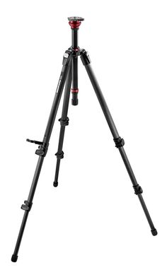 755CX3 MDEVE Carbon Fiber Tripod With 50mm Half Ball 755CX3 - MDEVE Single Leg | Manfrotto  In stock at Pitman Photo Supply.
