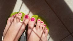 #Pedicure_pink #Made by me Have a nice summer