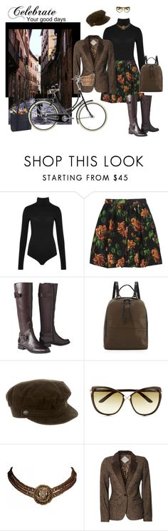 """Just Starting Out"" by jjsunnygirl ❤ liked on Polyvore featuring Wolford, Miu Miu, Merona, French Connection, Burberry, Tom Ford, Chanel, Blonde + Blonde and Picnic at Ascot"