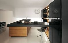 japanese wood kitchen - Google zoeken