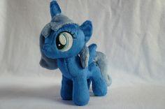 Filly Luna Plush My Little Pony Friendship Is Magic Handmade Custom MLP FIM   eBay