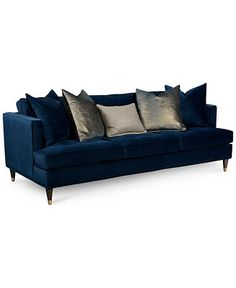 Suzette Glam Sofa - Couches & Sofas - Furniture - Macy's
