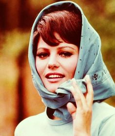 Photo of Claudia Cardinale for fans of Claudia Cardinale 9840062 Claudia Cardinale, Love Vintage, Vintage Beauty, Emilio Pucci, Sicilian Women, Versace, Luchino Visconti, Head Scarf Tying, Beauty Contest