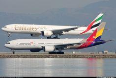 Acrobats! Boeing 777-28E/ER