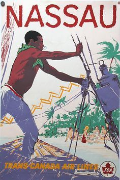 Vintage Travel Poster - Nassau.