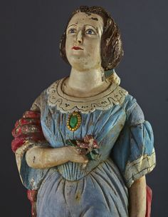 Mid 19th Century Ship's FigureHead