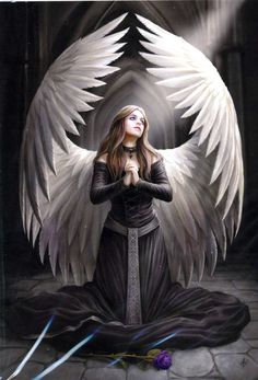 fallen angels pictures | Anne Stokes Cards & Journals : Angel Essence - Angel Gifts, figurines ...