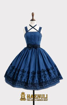 My Fair Lady JSK Item Type :  JSK - 1 type Size : 2 size- S(SM)/ L(LXL)    No Custom size. Colorway : INDIGO / BLUE / GRAY  - 3 colors  Acc Type :  Head bow / Bow Pin Reservation Period: 25th June ~5th July (ONLY 11 DAYS)   **We also accept holding or delay the payment dates, but we ship ...