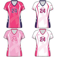 Custom Fuze Women s Sublimated Pro Series (Quick Ship) Cap Sleeve Jersey -  Dig Pink c1f0490f9d03d