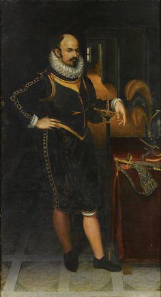 Lavinia Fontana   ritratto di gentiluomo in armi