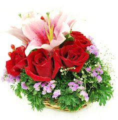 a boquette of flowers for you Lauren Hovis