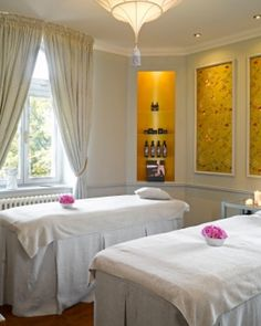 Chateau Mcely ( Prague, Czech Republic ) The haven-like spa has three large suites overlooking the sprawling English Park. Small Luxury Hotels, Hotel Reviews, Czech Republic, Trip Advisor, Prague Czech, Curtains, Spas, English, Furniture