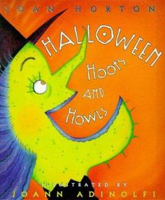 "Halloween Hoots and Howls, by Joan Horton. (Henry Holt, 1999).  A collection of poems celebrating Halloween, including ""Tombstone Epitaphs,"" ""The Ghost and Goblin Ball,"" and ""The Vampire."""