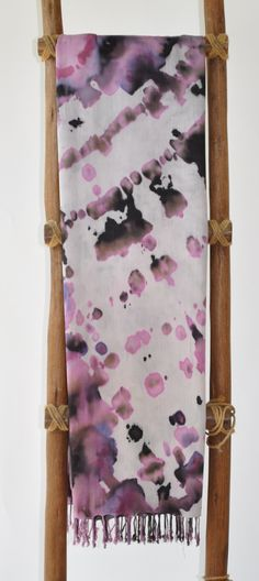 """LiliKai Pareo tye dyed on rayon 42""""x72""""  wear in a variety of ways...tie at neck, around bust or at hips..."""