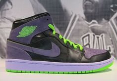 "2013 Air Jordan 1 ""Joker"" Sneaker on clearance for 48 bucks!"