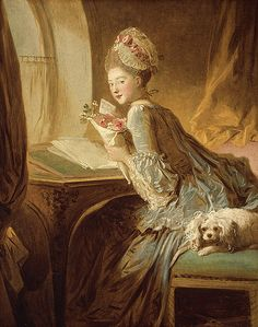Jean-Honoré Fragonard (French, 1732–1806). The Love Letter, ca. 1770. The Metropolitan Museum of Art, New York. The Jules Bache Collection, 1949 (49.7.49) #letters #Connections