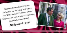 Nadya and Peter began their love story on RussianCupid.com.