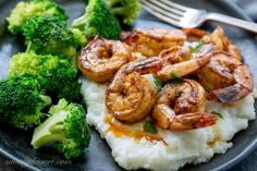 Cooked in a skillet, or on the grill, this flavorful Chili Garlic Shrimp from Barefeet in the Kitchen is on the table in minutes!