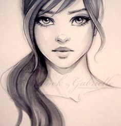 Simple & Stunning Drawings by Gabrielle