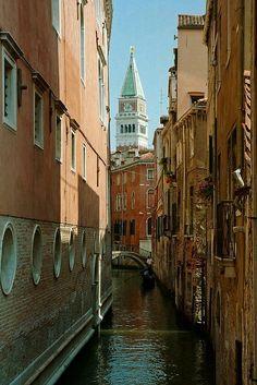Canales de Venecia Italia